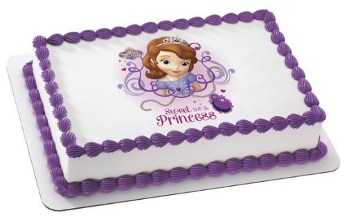 SOPHIA THE FIRST SWEET AS A PRINCESS Edible Image FROSTING SHEET Cake Topper