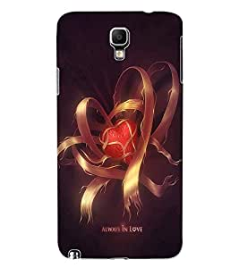 ColourCraft Love Design Back Case Cover for SAMSUNG GALAXY NOTE 3 NEO DUOS N7502