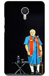 narendra modi Designer Printed Back Case Cover for Meizu M3 Note