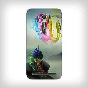 print mobile case cover for Asus Zenfone 2 Laser Ze 550 KL
