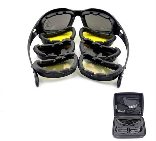 Goggles airsoft paintball survival war game Eyewear Protective UV400 Glasses