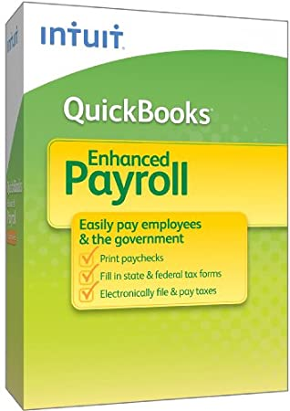 QuickBooks Enhanced Payroll 1-3 Employees 2010 [OLD VERSION]
