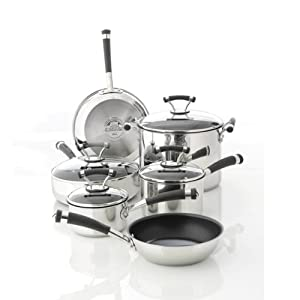 Best Cookware Set - Circulon Contempo Stainless Steel Nonstick 10-Piece Cookware Set Review