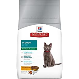 Hill\'s Science Diet Kitten Indoor Dry Cat Food, 7-Pound Bag