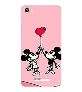 EPICCASE Mick Mini Love case Mobile Back Case Cover For Lava Iris X8 (Designer Case)