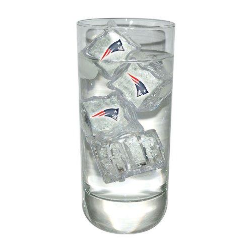 New England Patriots 4 Light Up Ice Cube Set