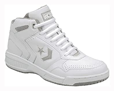 Amazon.com: Converse Athletic Basketball BB White Hi Top Leather Wide