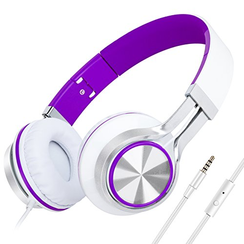 headphonespicun-hd200-stereo-lightweight-folding-headphones-with-microphonestretchable-headbandremot