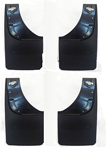 Weathertech Mudflap Kit for 2014+ GMC Sierra 1500 2015+2500/3500 (Mud Flaps For 2014 Gmc Trucks compare prices)
