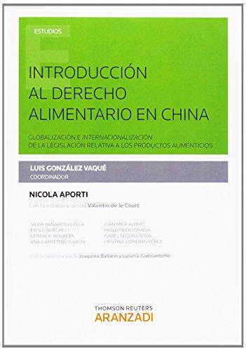 Introducción al derecho alimentario en China (Monografía)