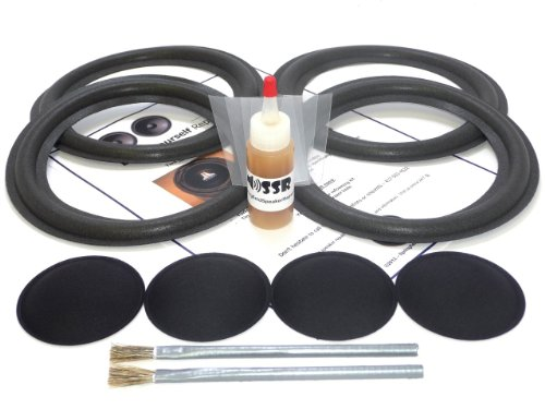 "8"" Complete Bose 601 Foam Surround Repair Kit - 4 Piece, 8 Inch"