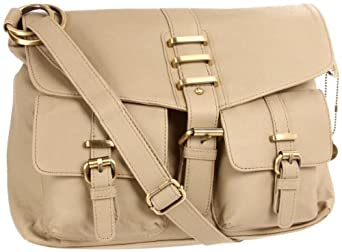 BIG BUDDHA Hanna Messenger Bag,Stone,One Size