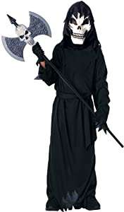 Scary Cool Ghoul Costume, Small-Size 4-6, For 3-4 Years of Age