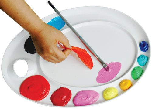 Martin Universal 12-Inch by 17-Inch Ellipse Extra-Large Peel-Off Palette