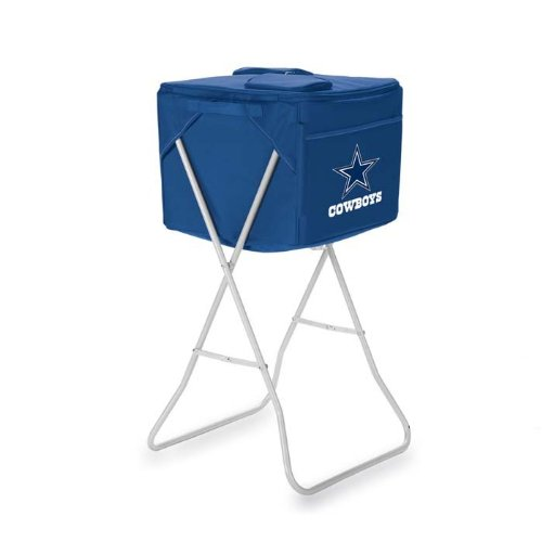 NFL Dallas Cowboys Party Cube Portable Cooler with Stand