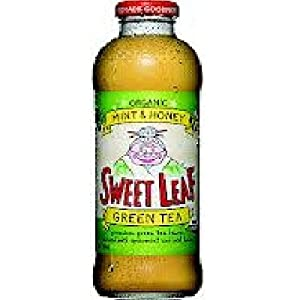Sweet Leaf Tea Mnt Honey Green Tea (12x16OZ )