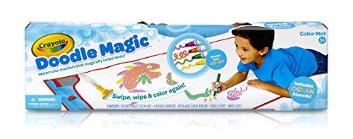 Crayola Mat Ocean Doodle Magic Color Marker Shopswell
