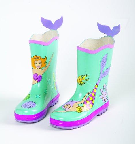 Mermaid Kidorable Rain Boots/Wellies – Size 9