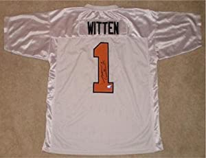 Signed Jason Witten Jersey - Ut Tennessee Volunteers Vols #1 Coa - Autographed... by Sports+Memorabilia