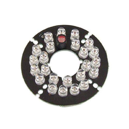5Mm 24-Led Infrared Bulbs 60 Degree Ir Board For Security Camera