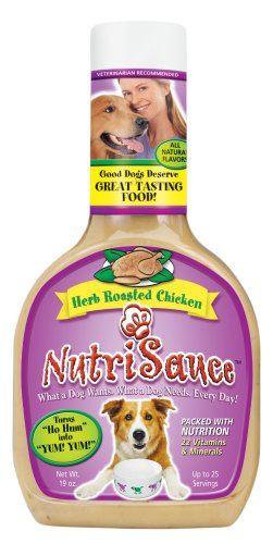 Synergy NutriSauce Herb Roast Chicken Flavor For Dogs, 19 Ounce