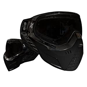 HK Army KLR Goggles - Black w/ Smoke Thermal Lens