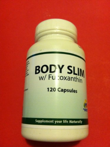 Body Slim With Fucoxanthin 120 Caps