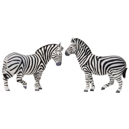 Zebra (Plains) - Noah's Pals (4 Pack)