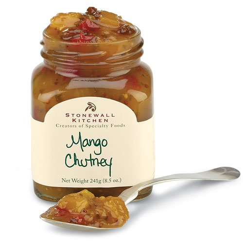 Stonewall Kitchen Mango Chutney, 8.5-Ounce Glass Jar