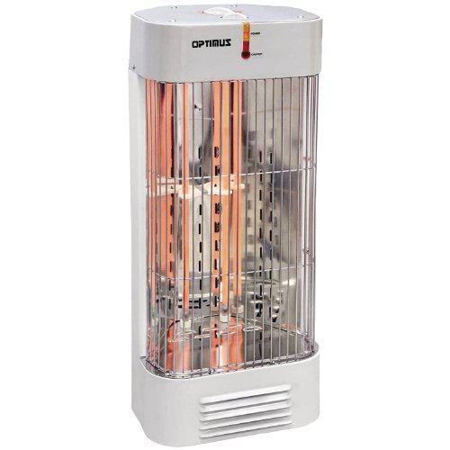 B002S58RTG Optimus H-5230 Portable Tower Quartz Heater