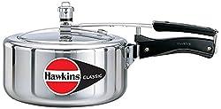 Hawkins Classic Aluminum Pressure Cooker, 3.5 Litres