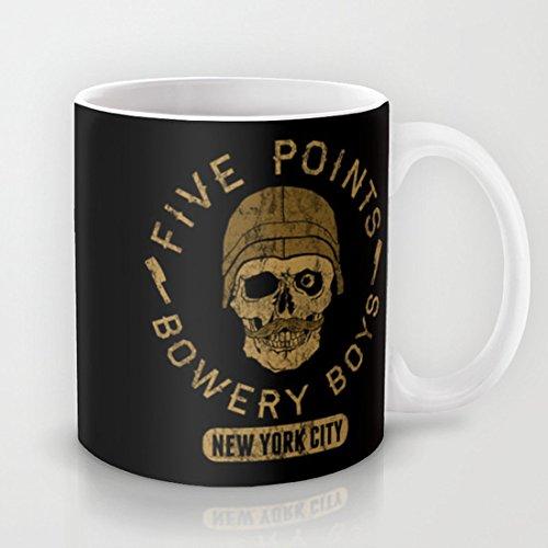 Bad Boy Club: fünf Punkte Bowery Jungen Klassische Tasse Kaffeebecher, Keramik Tasse in Geschenkbox, personalisierbar