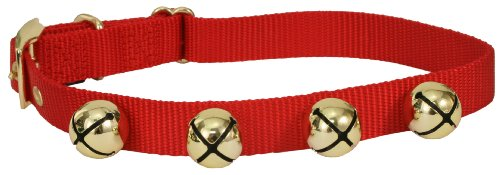 Jingle Bell Dog Collar (also available in green)