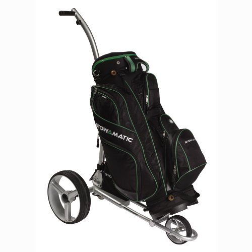 Stowamatic VOGUE Electric Golf Trolley SILVER