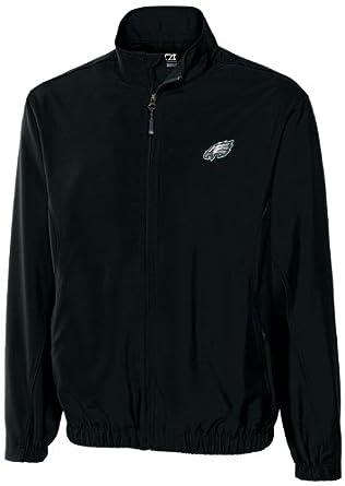 NFL Philadelphia Eagles Mens WindTec Astute Full Zip Windshirt by Cutter & Buck