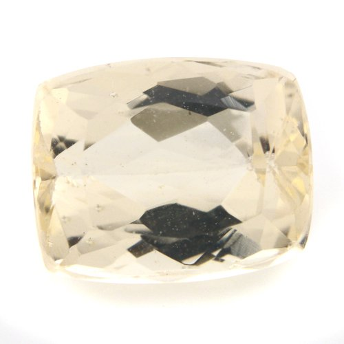 Natural Yellow Beryl Loose Gemstone Cushion Cut 3.40cts 9*7mm SI Grade Marvelous