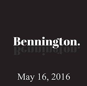 Bennington, Moby, Don Jamieson, May 16, 2016 Radio/TV Program
