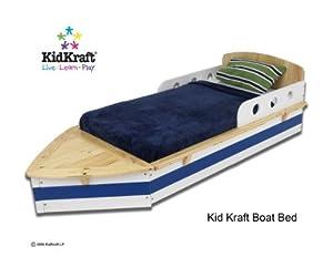Kidkraft Boat Toddler Cot MPN: 76251 from KidKraft