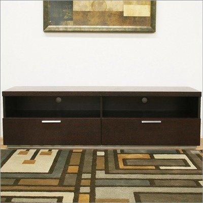 Cheap Baxton Studio Pelham Modern 63″ TV Stand in Dark Brown (HE1193-M-Wenge)