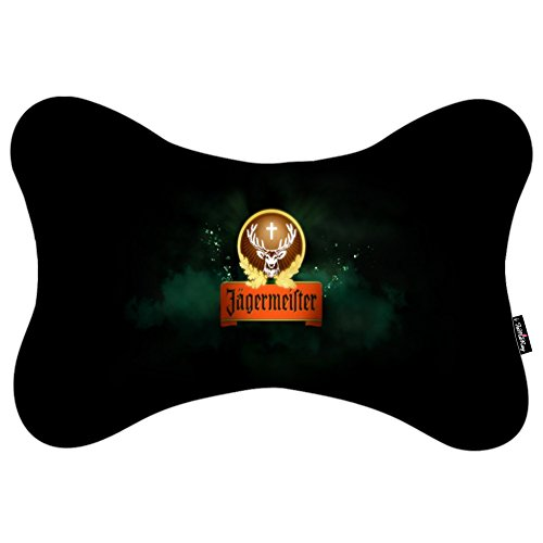 i-famuray-almohada-de-cuello-with-washable-soft-microfiber-travel-pillowcase-alcohol-jagermeister