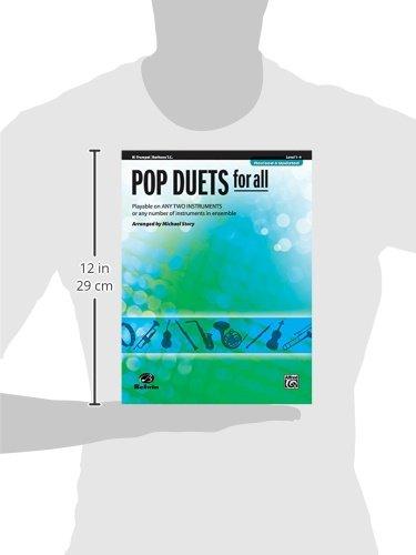 Pop Duets for All: B-flat Trumpet / Baritone T.C.: Level 1-4 (Pop Instrumental Ensembles for All)