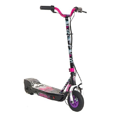Monster High 24V Su Electric Scooter, Black/Pink/Blue/Purple