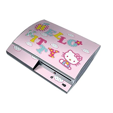 Hello Kitty PS3 Playstation 3 Body Protector Skin Decal Sticker, Item No.PS30853-81