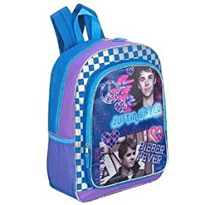 Justin Bieber-Purple and Blue-Peace and Love 16 inch ... - photo #25