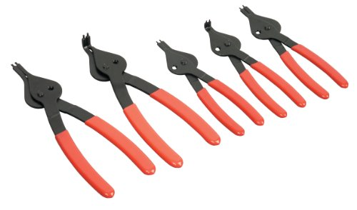 TEKTON 3580 Snap Ring Pliers Set, 5-Piece