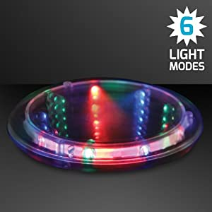 Infinity tunnel light up led coaster coasters - Lighted coaster ...