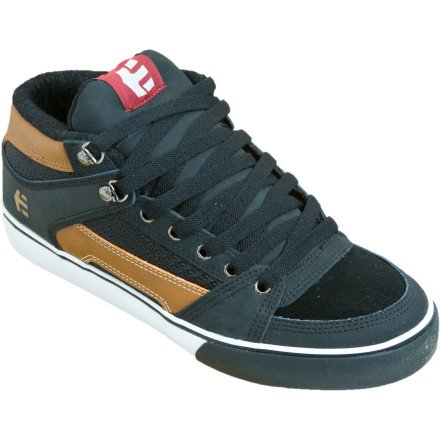 etnies Men's RVM Skate Shoe,Brown/Black/White,9 M US