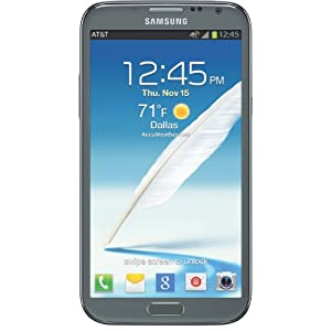 Samsung Galaxy Note II 4G Android Phone (AT&T)