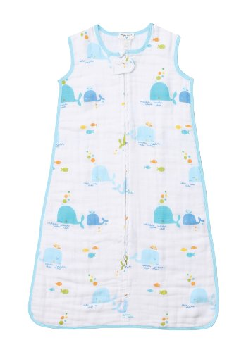 Angel Dear Double Layer Sleep Sack, Sea Life - 1