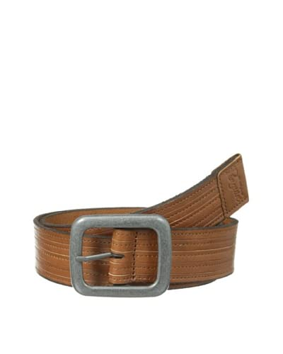 Original Penguin Men's Scored Leather Belt